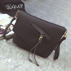Asymetric Tassels Crossbody Bag Bag