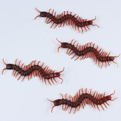 Halloween Party decration 10PCS Simulation Chilopod Toy Prop -
