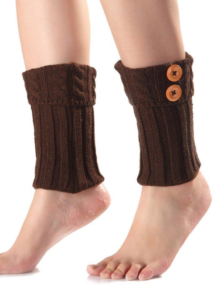 Boutons chauds par brides Knit Boot Cuffs