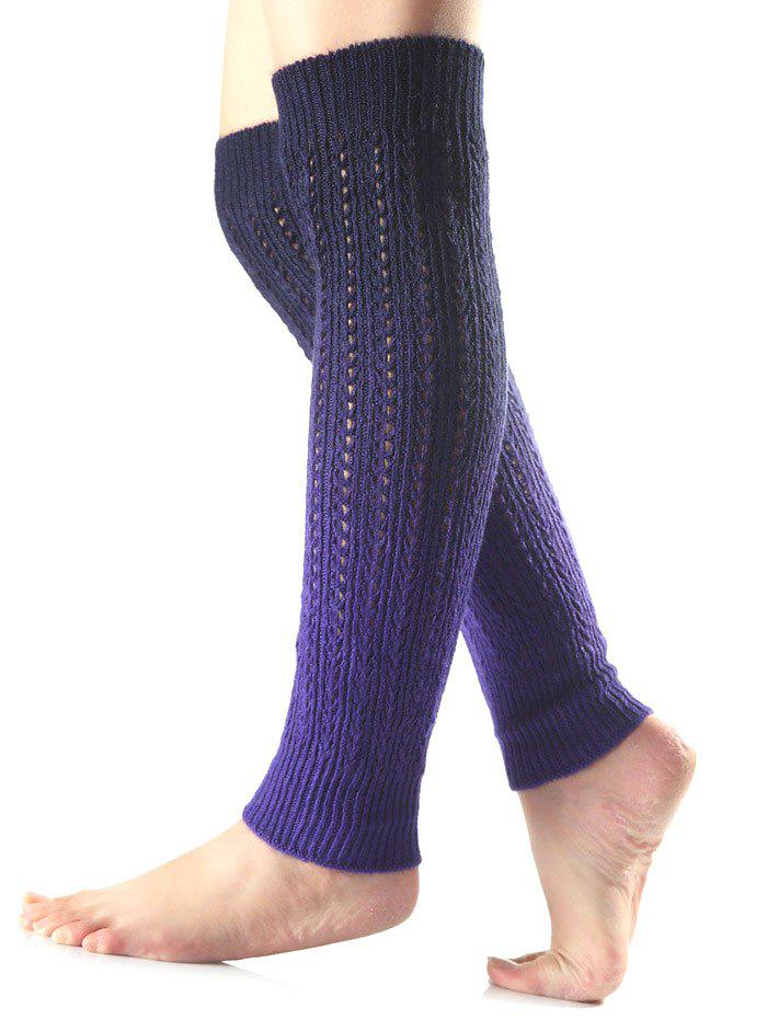 Fancy Warm Ombre Knit Leg Warmers