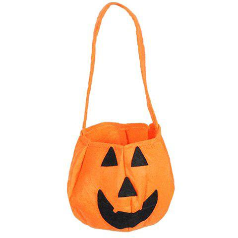 Chic Halloween Pumpkin Shaped Bag