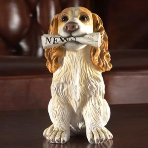 Home Table Decoration Dog Animal Statue Craft