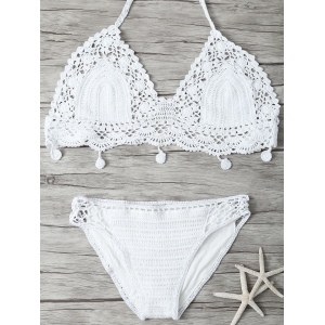 Crocheted Bikini Set