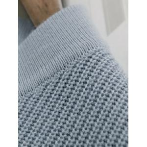 Single-Breasted Cropped Knitwear -