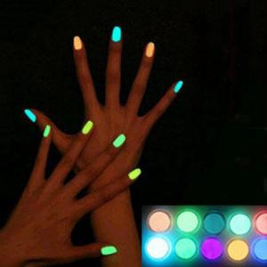 Halloween Party Decration Luminous Cartoon Nail Polish - BLUE