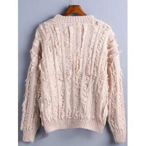 Fuzzy Pullover Sweater -
