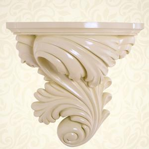 Retro Home Craft Decoration Wall Hanging Flower Pot - BEIGE