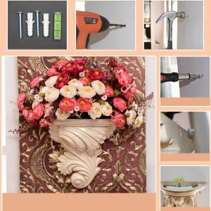 Retro Home Craft Decoration Wall Hanging Flower Pot -