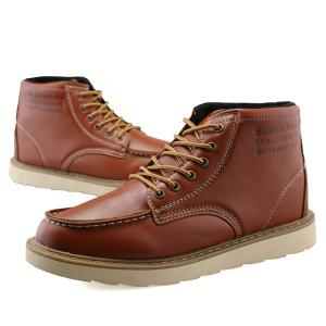 Stitching Letter Print Lace Up High Top Boots - BROWN 42