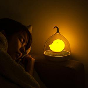 Induction Touch Fun Troopial Cage Goddess Night Light - YELLOW