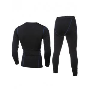 Manches longues Quick-Dry T-Shirt + Pantalon Skinny Gym Twinset -