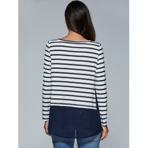 Striped Smock Blouse -