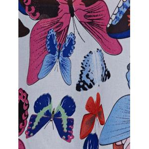 Butterfly Print Blouse -