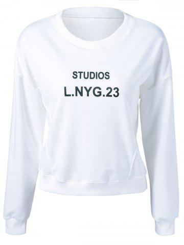 Outfit Studios Lnyg 23 Graphic Flocking Sweatshirt