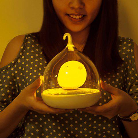 Fashion Induction Touch Fun Troopial Cage Goddess Night Light YELLOW