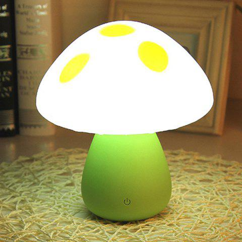 Shops Induction Touch Colorful Changing LED Eyecare Mushroom Study Lamp Night Light