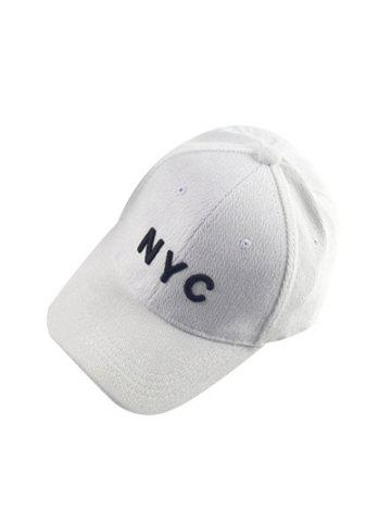 Online Autumn NYC Embroidery Corduroy Baseball Hat -   Mobile