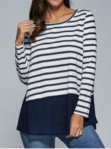 Affordable Striped Smock Blouse