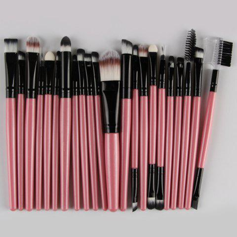 Best 22 Pcs Nylon Eye Lip Makeup Brushes Set