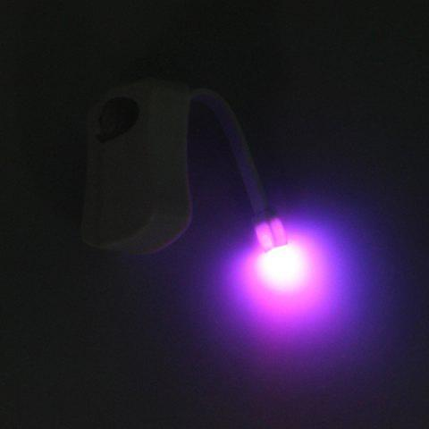 Unique LED Body Induction Bathroom Toilet Eight Colors Change Small Night Light - COLORMIX  Mobile