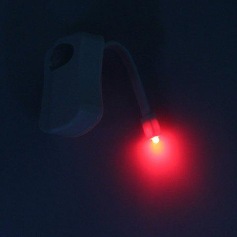 Sale LED Body Induction Bathroom Toilet Eight Colors Change Small Night Light - COLORMIX  Mobile