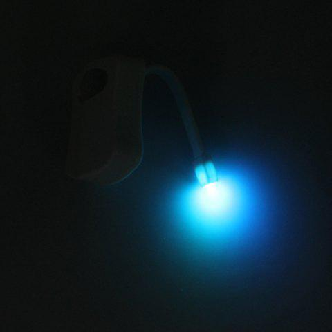 Fashion LED Body Induction Bathroom Toilet Eight Colors Change Small Night Light - COLORMIX  Mobile