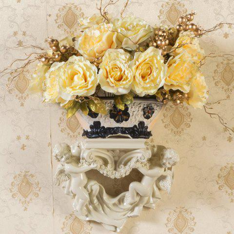 Trendy 1 Bouquet Real Touch Artificial Rose Flower