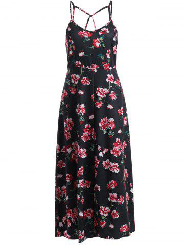 Outfit Floral Long Cami Summer Dress