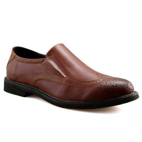 Discount Engraved Slip On Shoes