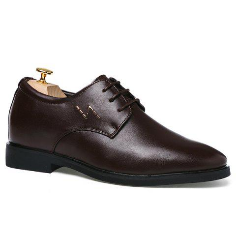 Affordable Tie Up Formal Increased Internal Shoes