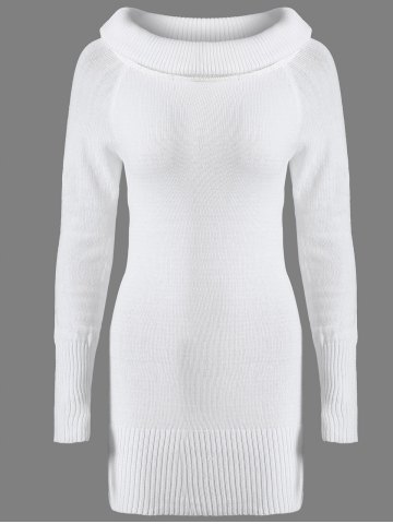Online Off The Shoulder Fitted Mini Sweater Dress