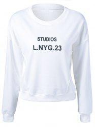 Studios Lnyg 23 Graphic Flocking Sweatshirt -
