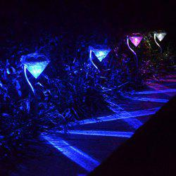 LED Solar Garden Lights Outdoor Decorative Waterproof Diamond Lawn Lamp
