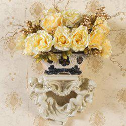 1 Bouquet Real Touch Artificial Rose Flower -