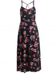 Floral Long Cami Summer Dress -
