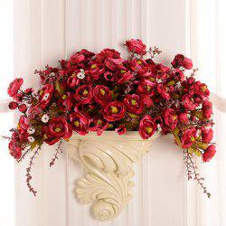Retro Accueil Craft Décoration Hanging Wall Flower Pot - RAL1001Beige