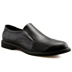 Engraved Slip On Shoes