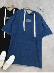 Shahd Embroidered Hoodie Dress