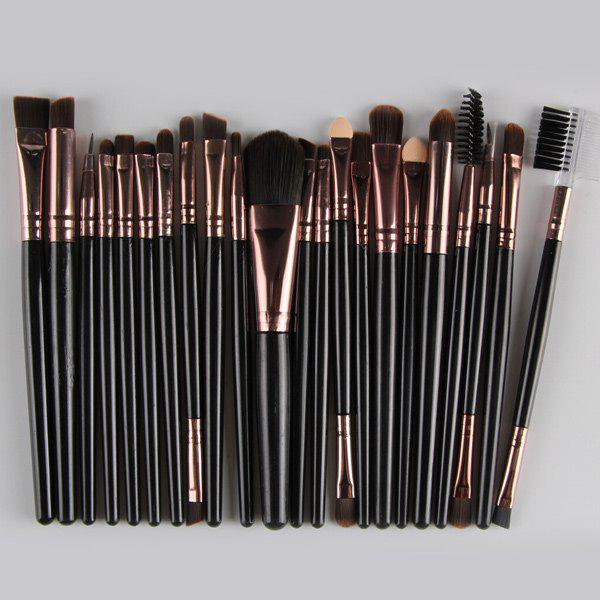 Online 22 Pcs Nylon Eye Lip Makeup Brushes Set