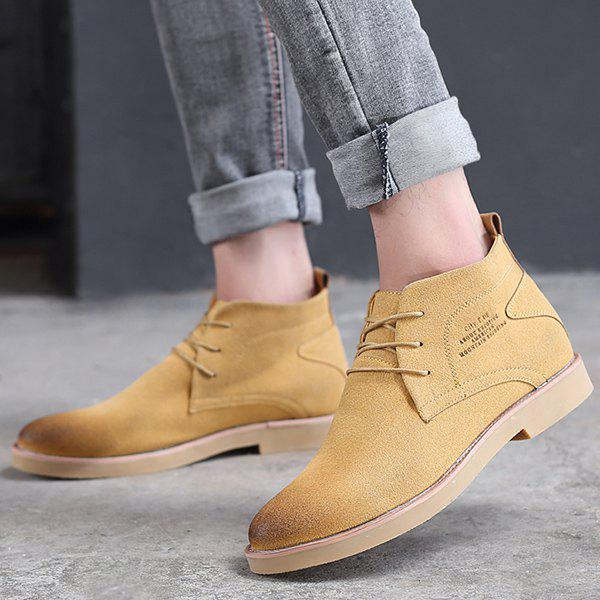 New Lace Up Pointed Toe Casual Shoes