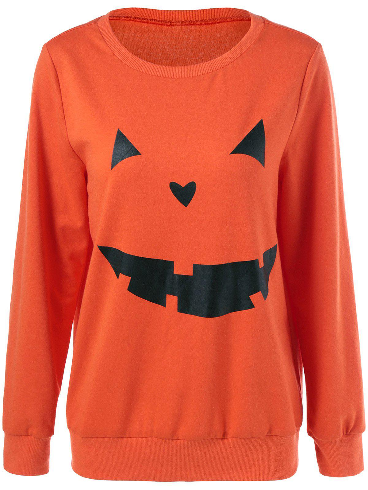 Buy Halloween Grimace Print Sweatshirt