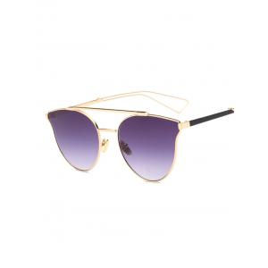 Cool Hollow Out Leg Crossbar Butterfly Sunglasses