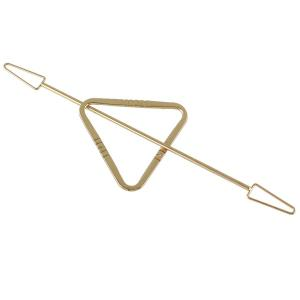 Openwork Triangle Arrow Hairpin