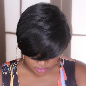 Adiors Short Straight Fluffy Synthetic Wig -