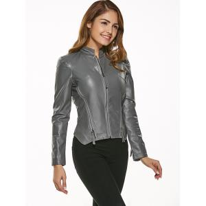 Fitting Zip-Up Motorcycle Jacket -