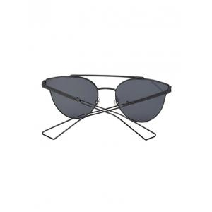 Cool Hollow Out Leg Crossbar Butterfly Sunglasses -