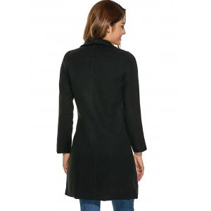 Fitting Woolen Overcoat -