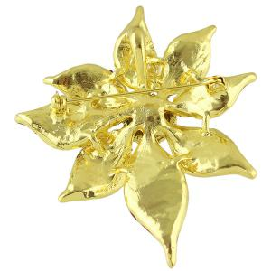 Enamel Ombre Tender Flower Brooch -