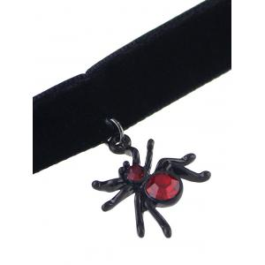 Spider Halloween Jewelry Set - BLACK