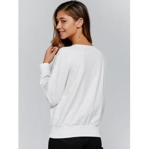 Asymmetrical Sweatshirt -